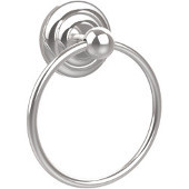 Que New Collection Towel Ring, Standard Finish, Polished Chrome