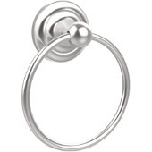 Que New Collection Towel Ring, Premium Finish, Satin Chrome