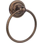 Que New Collection Towel Ring, Premium Finish, Venetian Bronze