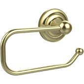 Que Collection Euro Tissue Holder, Premium Finish, Satin Brass