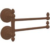 Que New Collection 2 Swing Arm Towel Rail, Antique Bronze
