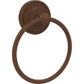 Regal Collection Towel Ring, Premium Finish, Rustic Bronze