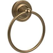 Regal Collection Towel Ring, Premium Finish, Brushed Bronze