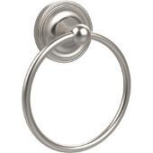 Regal Collection Towel Ring, Premium Finish, Satin Nickel