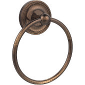 Regal Collection Towel Ring, Premium Finish, Venetian Bronze