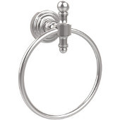 Retro-Wave Collection Towel Ring, Standard Finish, Polished Chrome