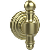 Retro-Wave Collection Utility Hook, Premium Finish, Satin Brass