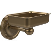 Regal Collection Soap Dish with Glass Liner, Premium Finish, Brushed Bronze