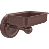 Regal Collection Soap Dish with Glass Liner, Premium Finish, Antique Copper