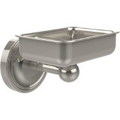 Regal Collection Soap Dish with Glass Liner, Premium Finish, Polished Nickel