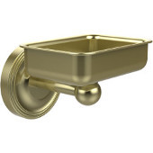 Regal Collection Soap Dish with Glass Liner, Premium Finish, Satin Brass