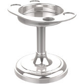 Vanity Top Collection Vanity Top Tumbler/Toothbrush Holder, Standard Finish, Polished Chrome