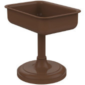 Vanity Top Collection Vanity Top Soap Dish 4'' H, Premium Finish, Rustic Bronze