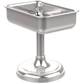 Vanity Top Collection Vanity Top Soap Dish 4'' H, Standard Finish, Polished Chrome