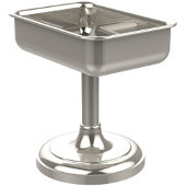 Vanity Top Collection Vanity Top Soap Dish 4'' H, Premium Finish, Polished Nickel