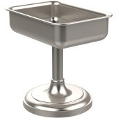 Vanity Top Collection Vanity Top Soap Dish 4'' H, Premium Finish, Satin Nickel
