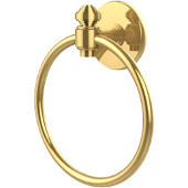 Southbeach Collection Towel Ring, Unlacquered Brass