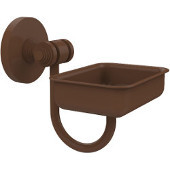 South Beach Collection Wall Mounted Soap Dish, Antique Bronze