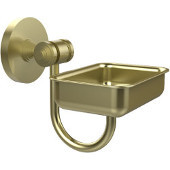 South Beach Collection Wall Mounted Soap Dish, Satin Brass