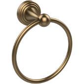 Sag Harbor Collection 6'' Towel Ring, Premium Finish, Brushed Bronze