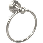 Sag Harbor Collection 6'' Towel Ring, Premium Finish, Polished Nickel