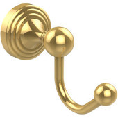 Sag Harbor Collection Robe Hook, Unlacquered Brass