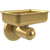 SoHo Collection Wall Mounted Soap Dish, Unlacquered Brass
