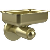 SoHo Collection Wall Mounted Soap Dish, Satin Brass