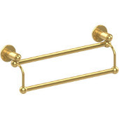 Soho Collection 24'' Double Towel Bar, Standard Finish, Polished Brass