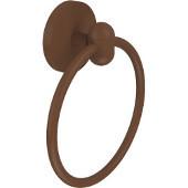 Tango Collection Towel Ring, Premium Finish, Rustic Bronze