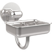 Tango Collection Wall Mounted Soap Dish, Polished Chrome
