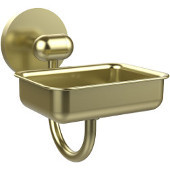 Tango Collection Wall Mounted Soap Dish, Satin Brass