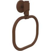 Tribeca Collection Towel Ring, Premium Finish, Rustic Bronze