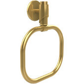 Tribeca Collection Towel Ring, Standard Finish, Polished Brass