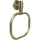 Tribeca Collection Towel Ring, Premium Finish, Satin Brass