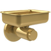 Tribecca Collection Wall Mounted Soap Dish, Unlacquered Brass