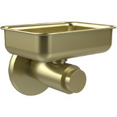 Tribecca Collection Wall Mounted Soap Dish, Satin Brass