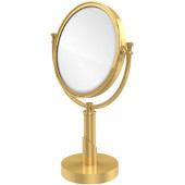 Tribeca Table Mirror, 2x Magnification, Standard, Polished Brass