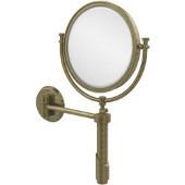 Tribecca Extendable Wall Mirror, 2x Magnification, Premium, Antique Brass