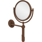 Tribecca Extendable Wall Mirror, 2x Magnification, Premium, Antique Bronze