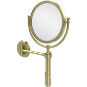 Tribecca Extendable Wall Mirror, 2x Magnification, Premium, Satin Brass