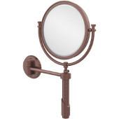 Tribecca Extendable Wall Mirror, 4x Magnification, Premium, Antique Copper