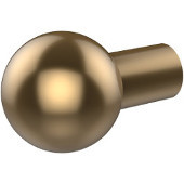 Smooth Round Cabinet Knob, Waverly Place, 1'' dia., Premium Finish, Brushed Bronze