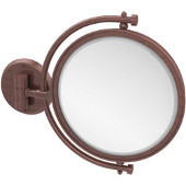 8'' Wall Mirror, 4x Magnification, Extends 7'', Premium, Available in Multiple Finishes
