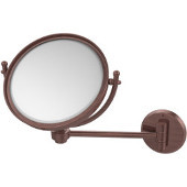 8'' Bottom Mount Wall Mirror, 5x Magnification, Extends 7'', Premium, Available in Multiple Finishes