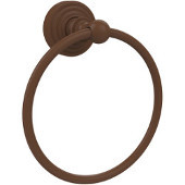 Waverly Place Collection 6'' Towel Ring, Premium Finish, Rustic Bronze