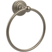 Waverly Place Collection 6'' Towel Ring, Premium Finish, Antique Pewter
