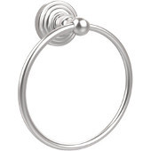 Waverly Place Collection 6'' Towel Ring, Premium Finish, Satin Chrome