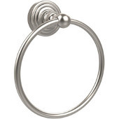 Waverly Place Collection 6'' Towel Ring, Premium Finish, Satin Nickel