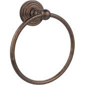 Waverly Place Collection 6'' Towel Ring, Premium Finish, Venetian Bronze